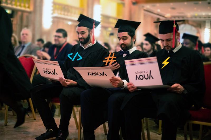 Etudiants Ynov diplomés